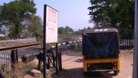 Railway crossing India